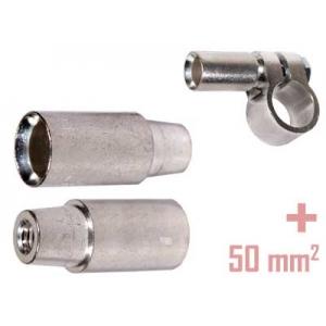 Akuklemm 50mm2 (+)